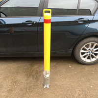 Removable Bollard RB11 Yellow